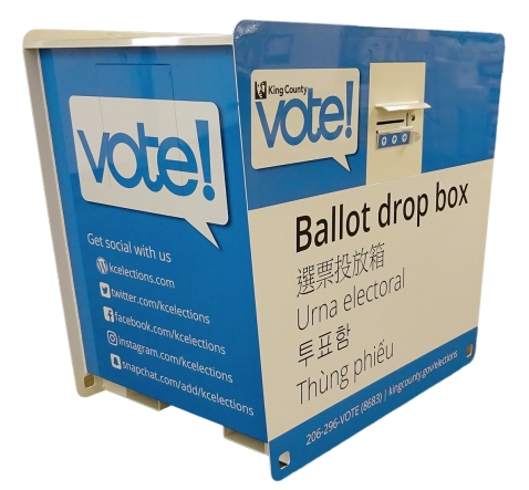 New ballot drop box