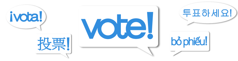 King County Elections vote logos